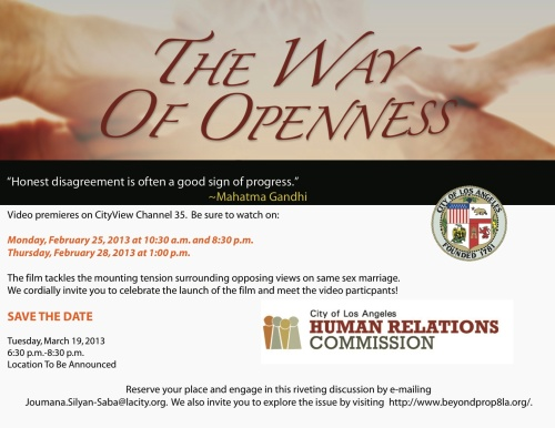 Ways of Openness